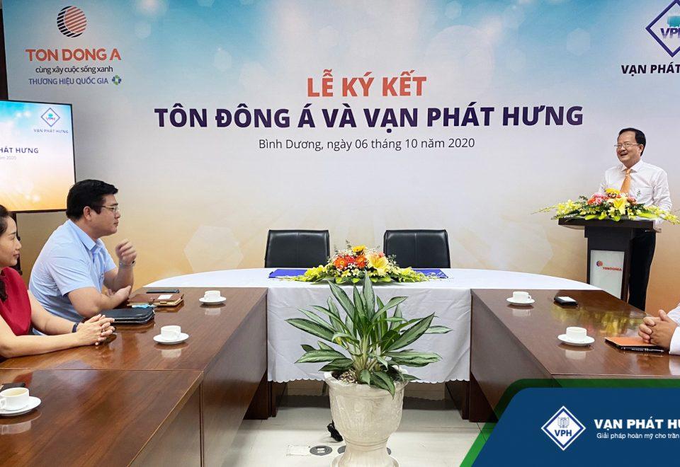Ký kết Nguyên liệu Tôn Đông Á