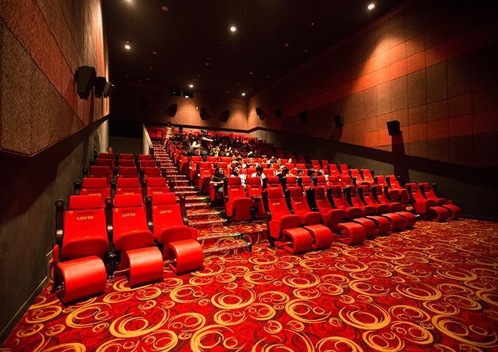 Vách ngăn thạch cao cách âm dùng trong rạp chiếu phim